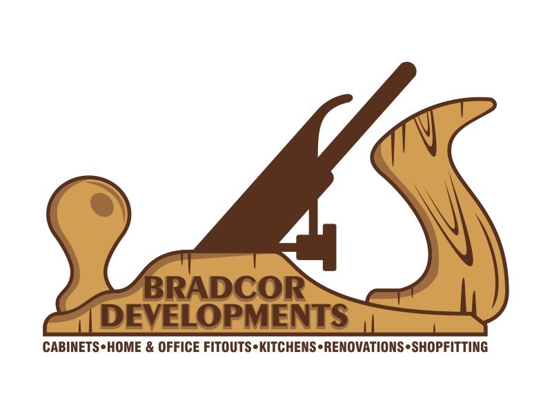 Bradcor Developments logo design by Kruger