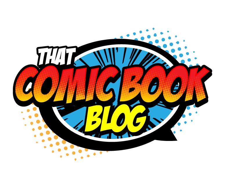 That Comic Book Blog logo design by jaize