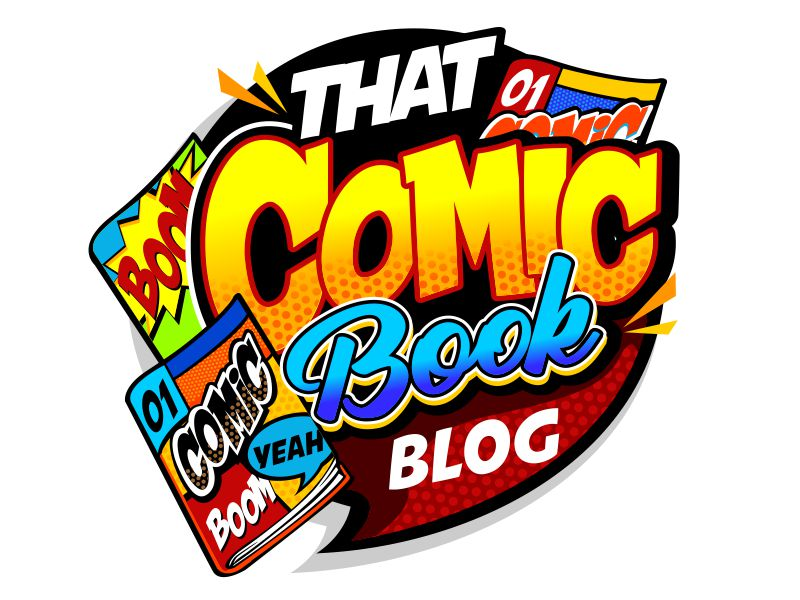 That Comic Book Blog logo design by veron