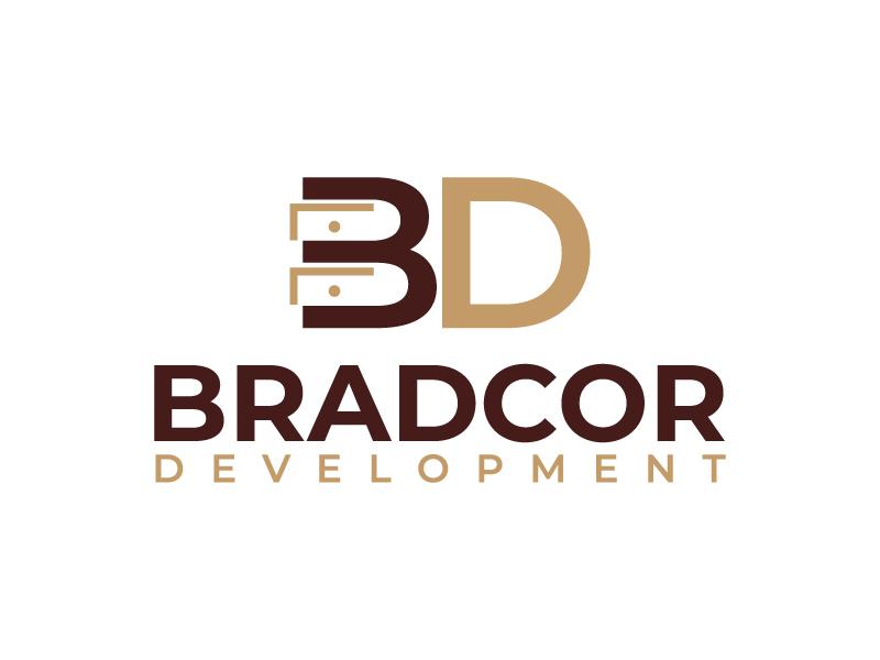Bradcor Developments logo design by MUSANG