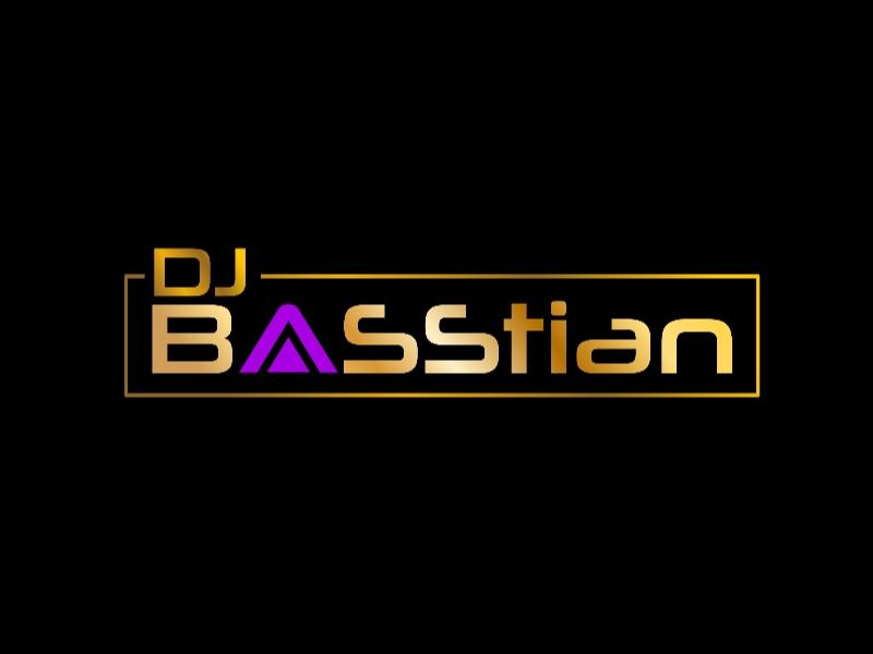 DJ BASStian logo design by Rexx