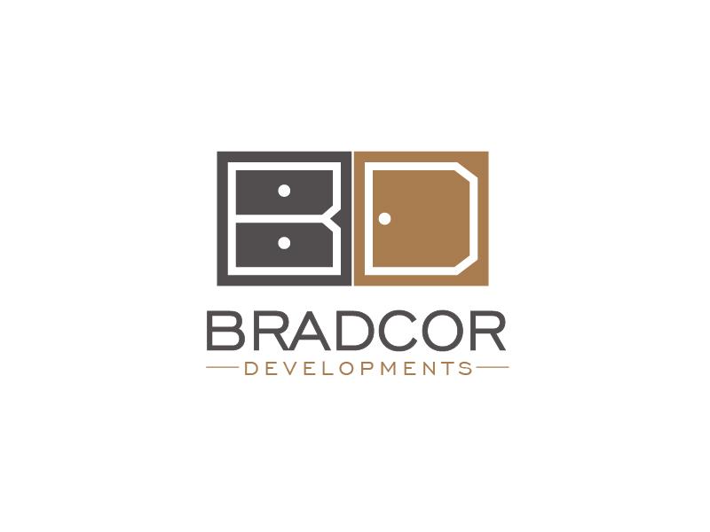 Bradcor Developments logo design by usef44