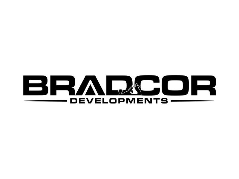 Bradcor Developments logo design by sheila valencia