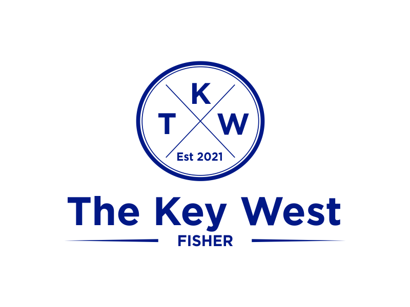 The Key West Fisher logo design by Greenlight