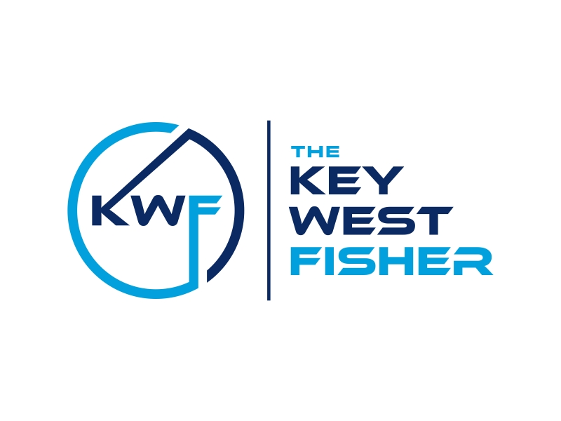 The Key West Fisher logo design by GassPoll