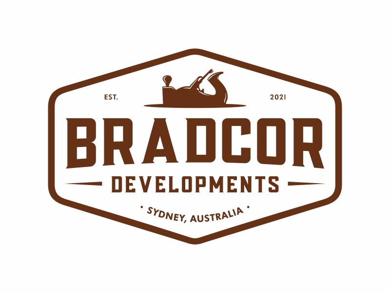 Bradcor Developments logo design by Mardhi