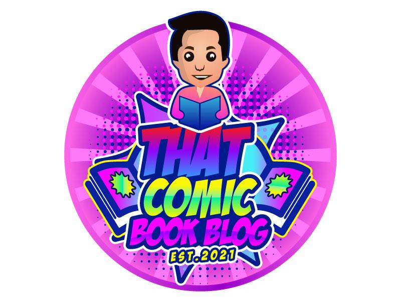 That Comic Book Blog logo design by aryamaity