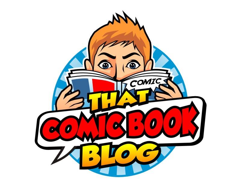 That Comic Book Blog logo design by haze