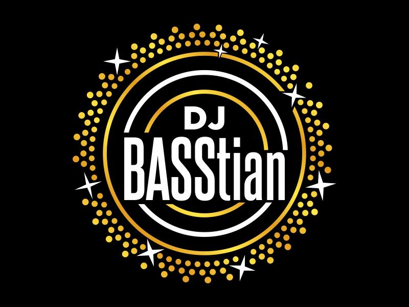 DJ BASStian logo design by cikiyunn