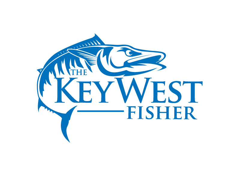 The Key West Fisher logo design by jaize