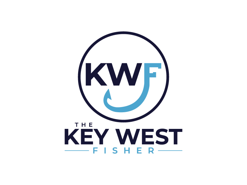 The Key West Fisher logo design by MUSANG