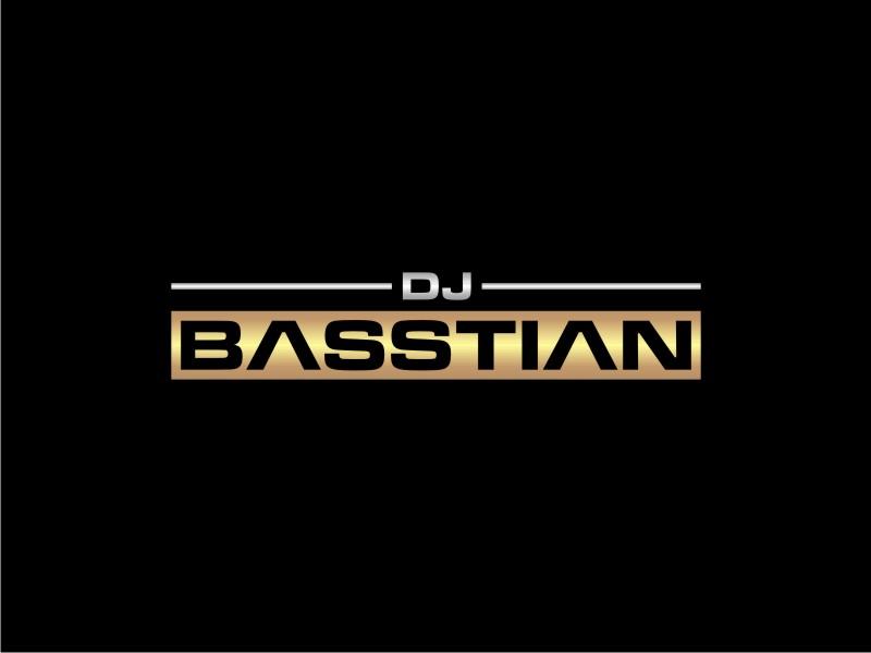 DJ BASStian logo design by johana
