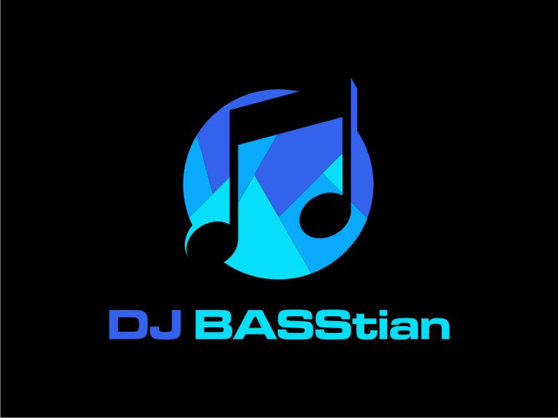 DJ BASStian logo design by Garmos
