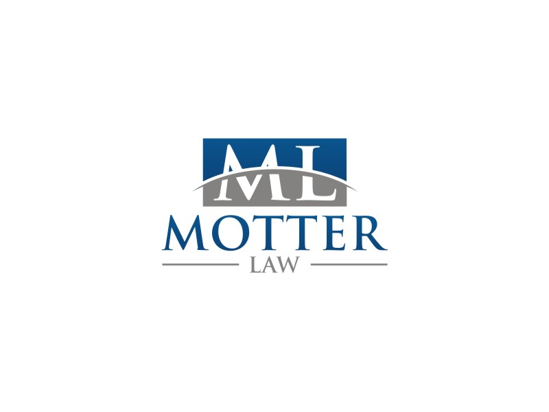 Motter Law logo design by muda_belia