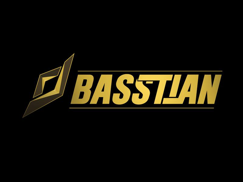 DJ BASStian logo design by Cire