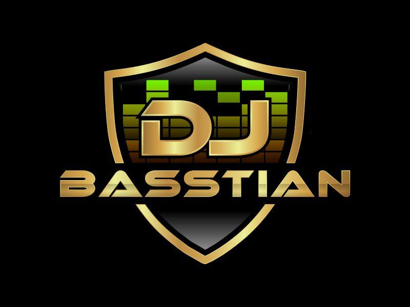 DJ BASStian logo design by bismillah