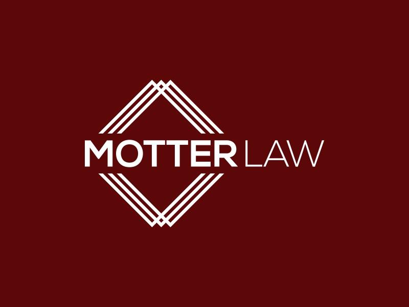Motter Law logo design by KaySa