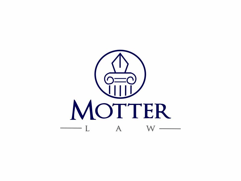 Motter Law logo design by Greenlight