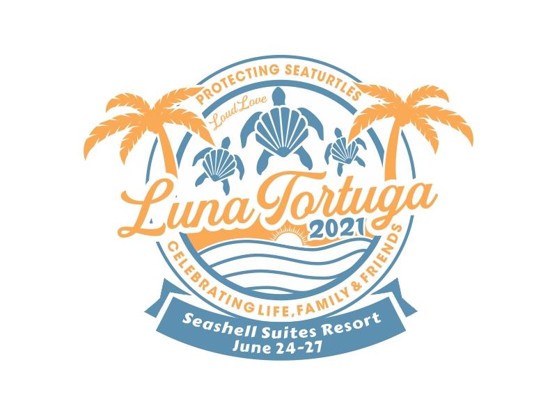 LunaTortuga 2021 logo design by Murni Art