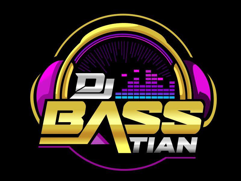 DJ BASStian logo design by veron