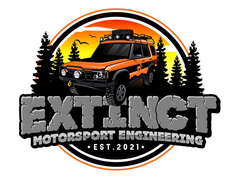 Extinct Motorsport Engineering Logo Design