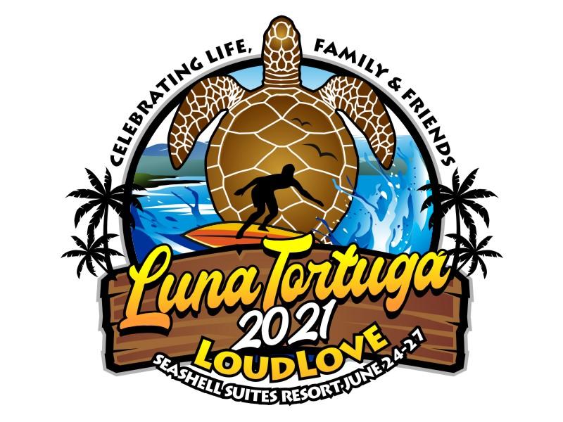 LunaTortuga 2021 logo design by haze