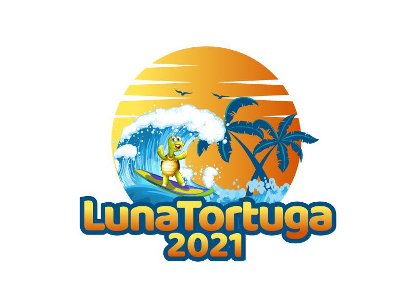 LunaTortuga 2021 logo design by czars