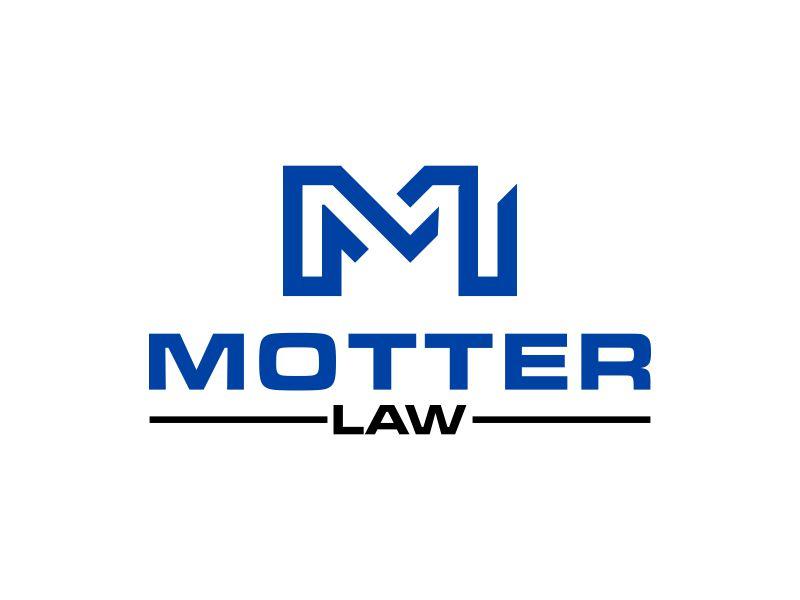 Motter Law logo design by dodihanz