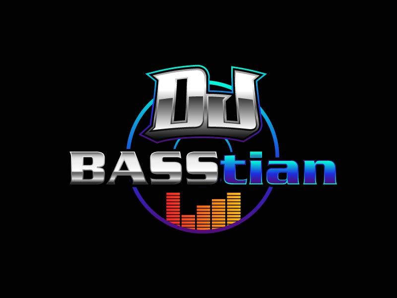 DJ BASStian logo design by axel182