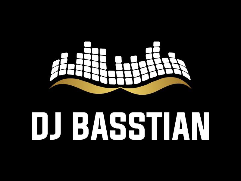 DJ BASStian logo design by JessicaLopes