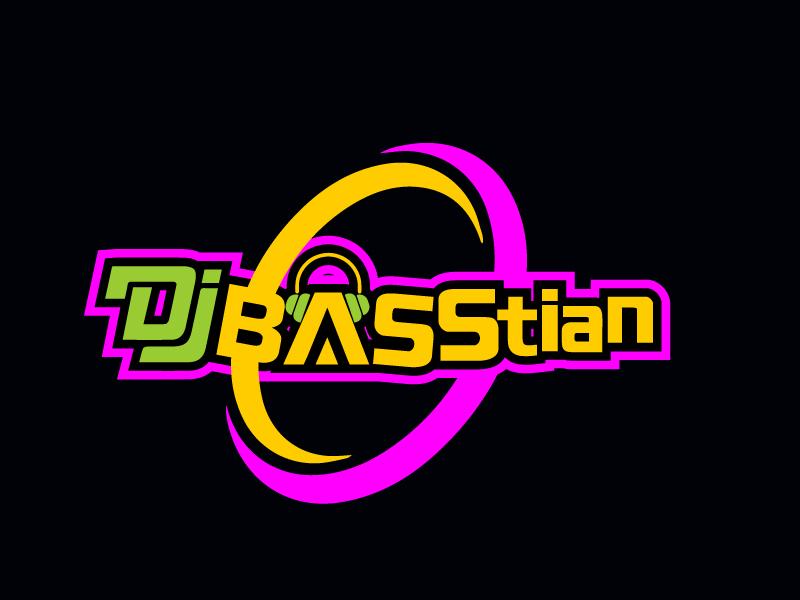 DJ BASStian logo design by Erasedink