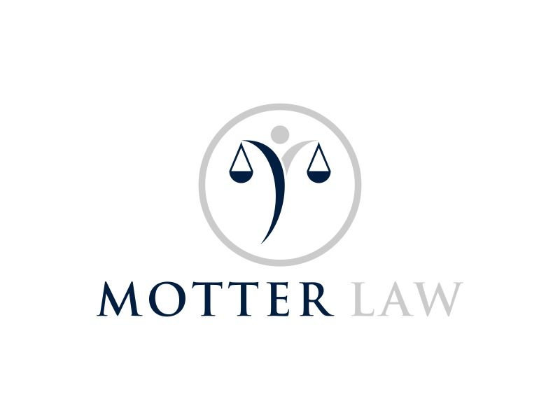 Motter Law logo design by Diponegoro_