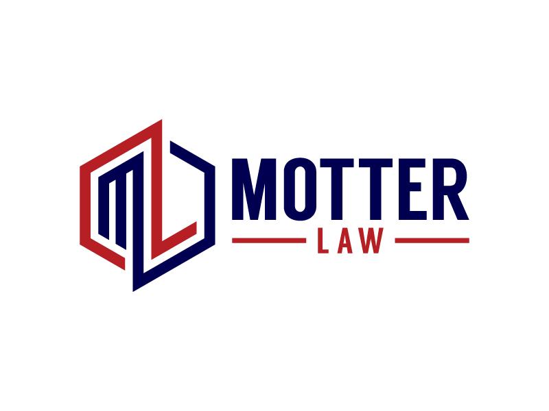 Motter Law logo design by denfransko