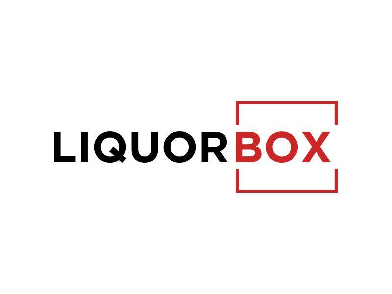 Liquor Box logo design by MUNAROH