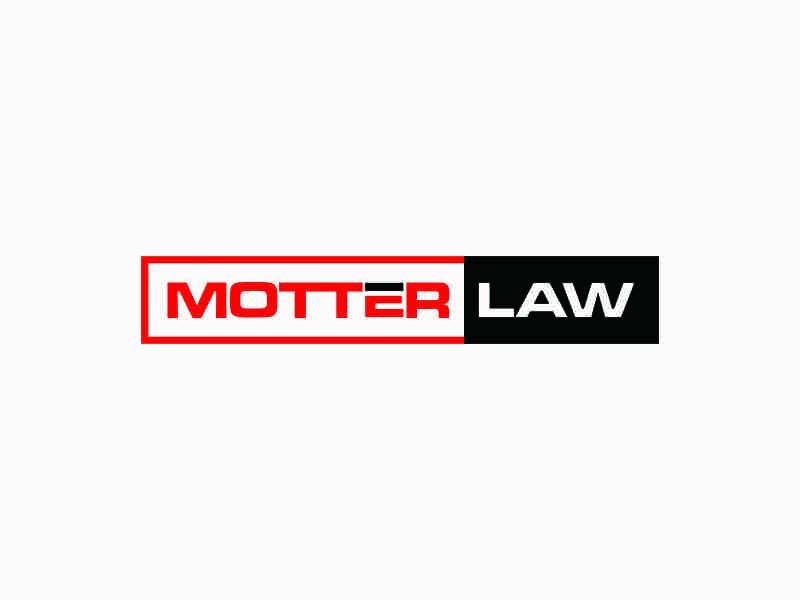 Motter Law logo design by afra_art