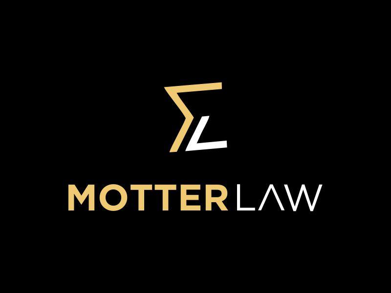 Motter Law logo design by MUNAROH
