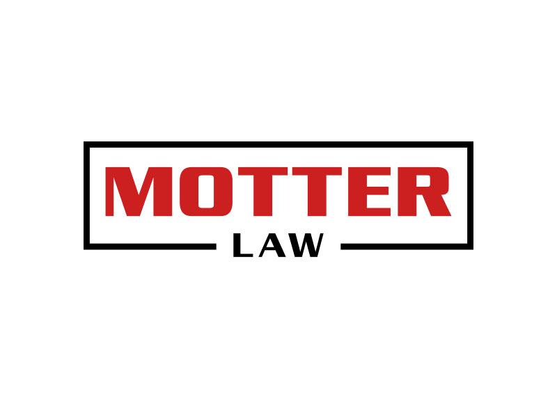 Motter Law logo design by keylogo