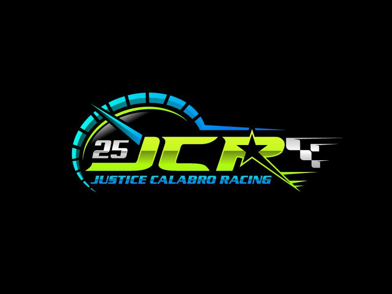 J C R Justice Calabro Racing logo design by uttam