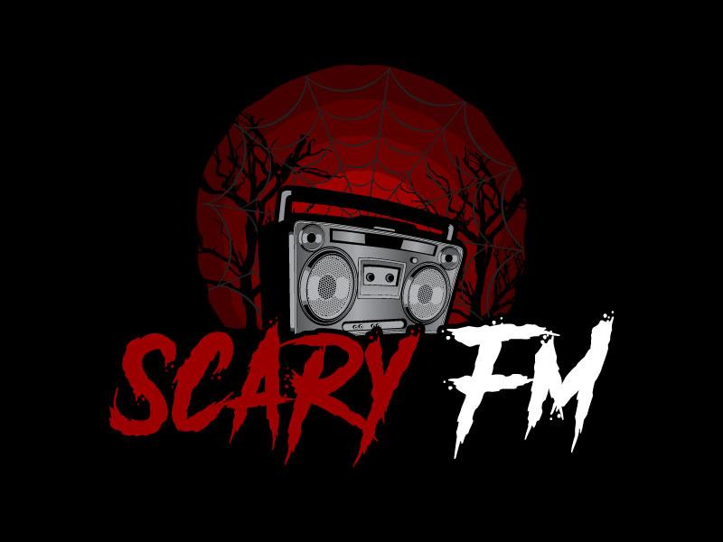 Scary FM logo design by uttam