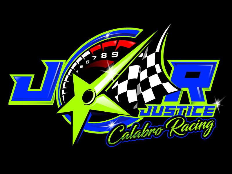 J C R Justice Calabro Racing logo design by usashi