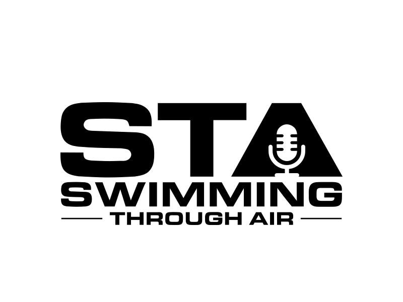 SWIMMING THROUGH AIR (STA) logo design by MarkindDesign™
