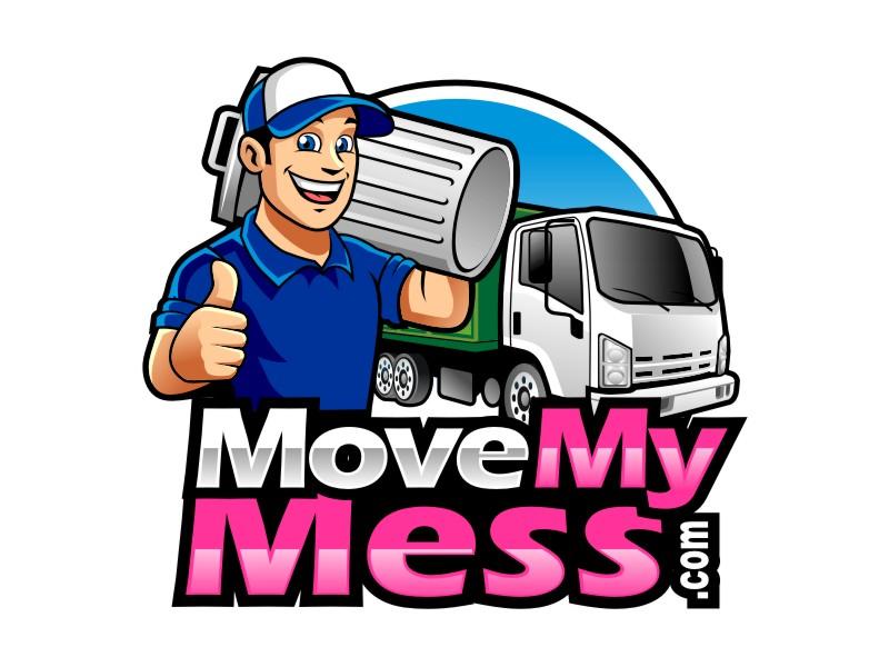 MoveMyMess.com logo design by haze