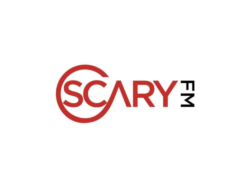 Scary FM logo design by rief