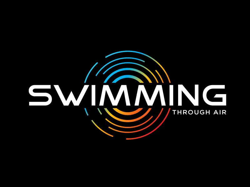 SWIMMING THROUGH AIR (STA) logo design by Sandip