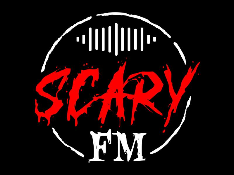 Scary FM logo design by MAXR