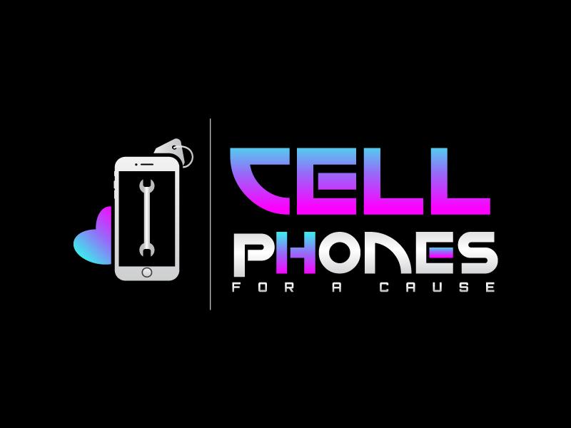 Cellphones For A Cause logo design by Suvendu