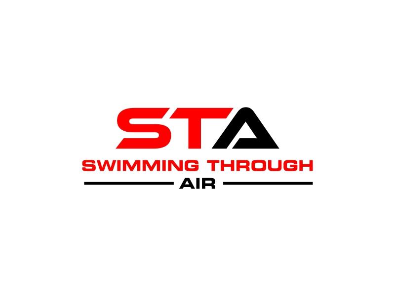SWIMMING THROUGH AIR (STA) logo design by IrvanB