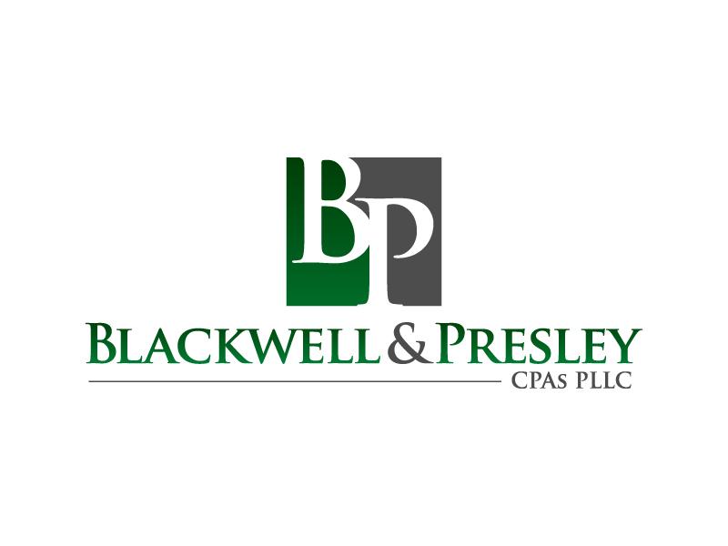 Blackwell & Presley, CPAs PLLC logo design by jaize