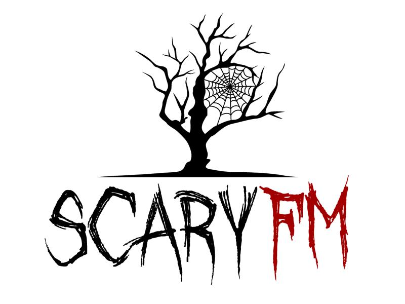 Scary FM logo design by DreamLogoDesign