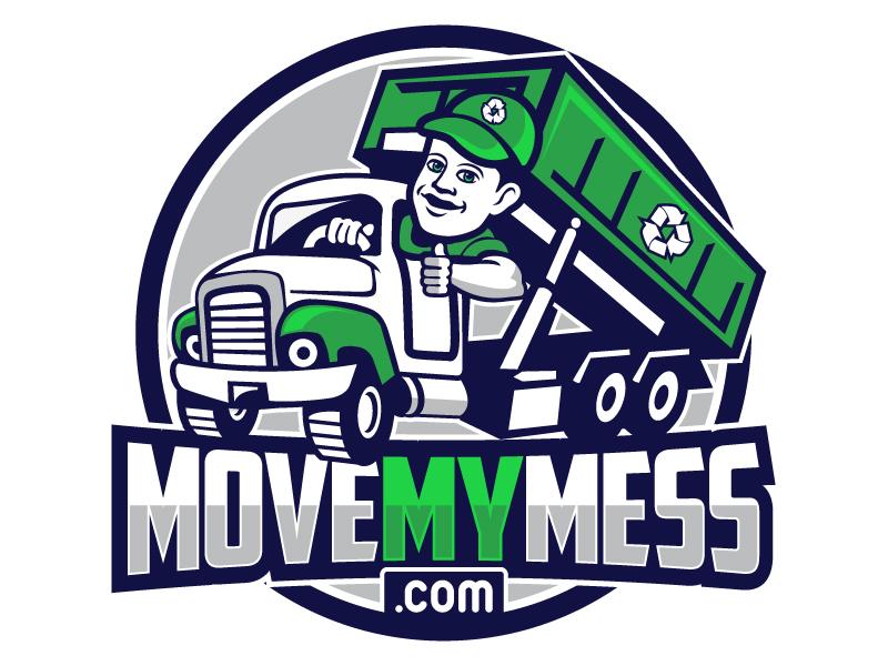 MoveMyMess.com logo design by LucidSketch